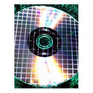 Shredded Disco Galaxy CD Postcard