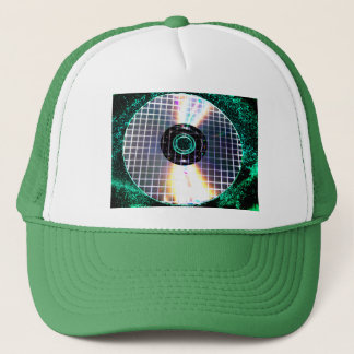 Shredded Disco Galaxy CD Trucker Hat