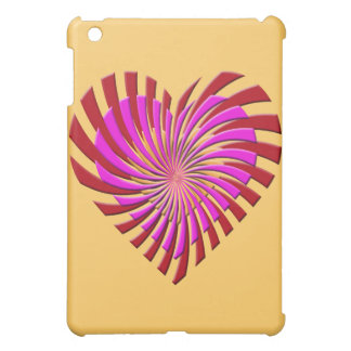 SHREDDED HEART iPad MINI CASE