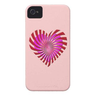 SHREDDED HEART iPhone 4 Case-Mate Case
