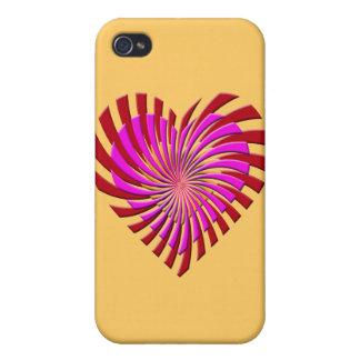 SHREDDED HEART CASES FOR iPhone 4
