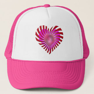 SHREDDED HEART TRUCKER HAT
