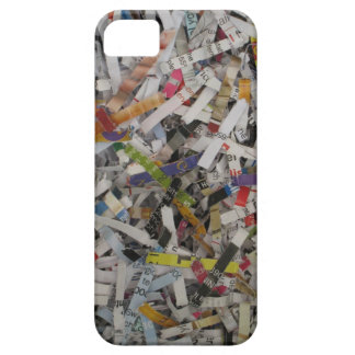 Shredded Paper iPhone Case