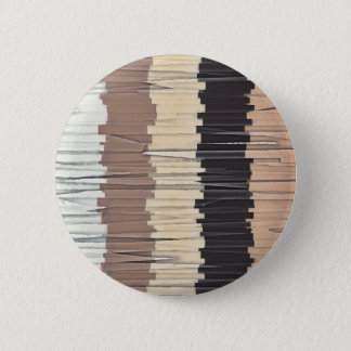Shredded Stripes Abstract Button
