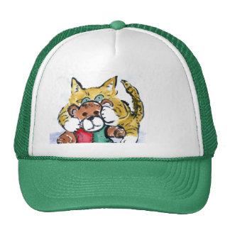 Shredded Teddy Bear Trucker Hat