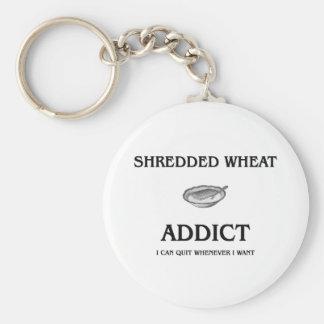 Shredded Wheat Addict Keychain