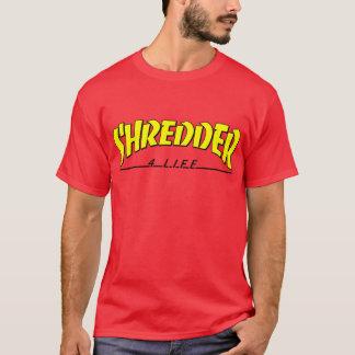 shredder 4 life skateboarding t-shirt