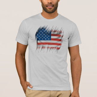 Shredders American Flag T-Shirt