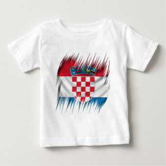 Shredders Croatian Flag Baby T-Shirt
