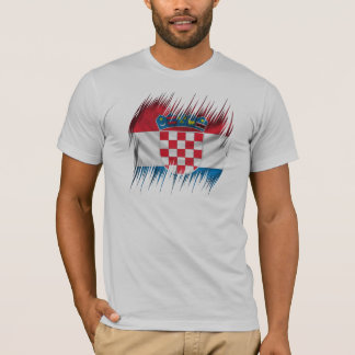 Shredders Croatian Flag T-Shirt