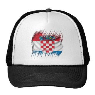 Shredders Croatian Flag Trucker Hat