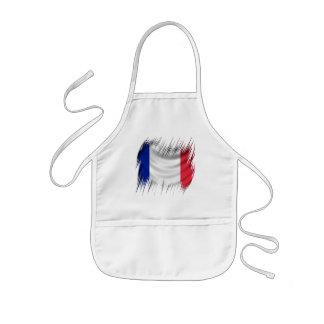 Shredders French Flag Kids' Apron