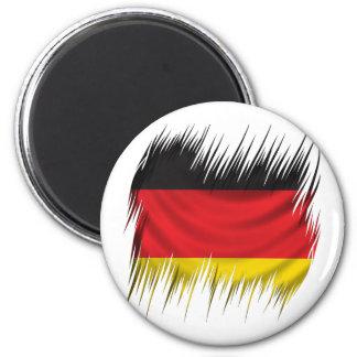 Shredders German Flag 2 Inch Round Magnet