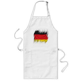 Shredders German Flag Long Apron