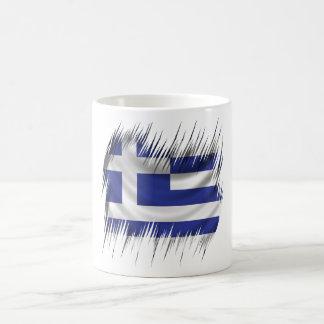 Shredders Greek Flag Coffee Mug