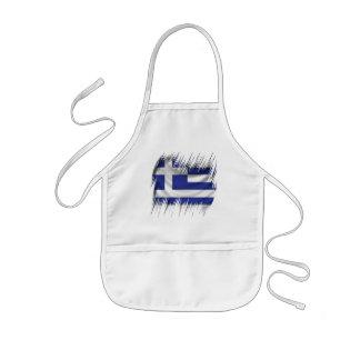 Shredders Greek Flag Kids' Apron