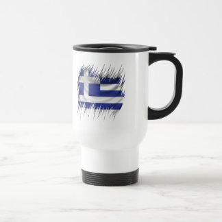 Shredders Greek Flag Travel Mug