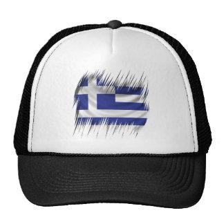 Shredders Greek Flag Trucker Hat