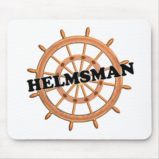 Shredders Helmsman Mouse Pad