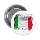 Shredders Italy Flag Pinback Buttons