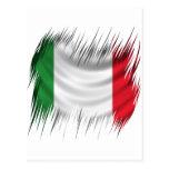 Shredders Italy Flag Post Card