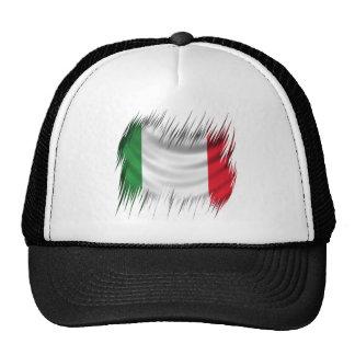 Shredders Italy Flag Trucker Hat