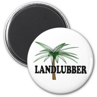 Shredders Landlubber 2 Inch Round Magnet