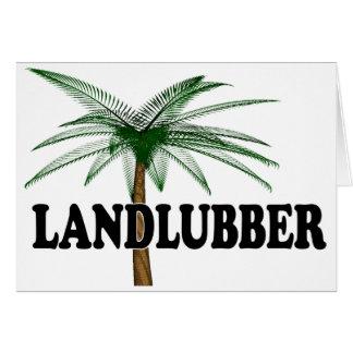 Shredders Landlubber Card