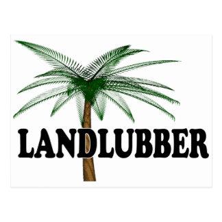 Shredders Landlubber Postcard