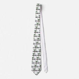 Shredders Landlubber Tie