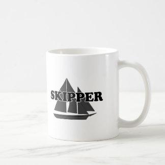 Shredders Skipper Classic White Coffee Mug