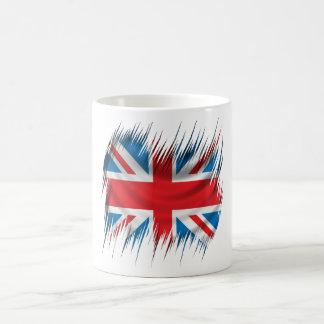 Shredders Union Jack Flag Coffee Mug