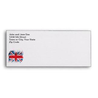 Shredders Union Jack Flag Envelope
