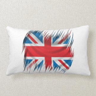 Shredders Union Jack Flag Throw Pillow