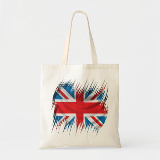 Shredders Union Jack Flag Tote Bag