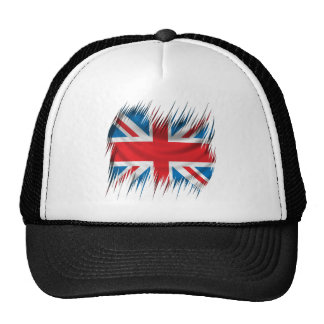 Shredders Union Jack Flag Trucker Hat