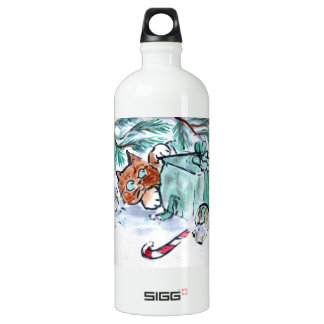 shredding a Christmas Present, What? Aluminum Water Bottle
