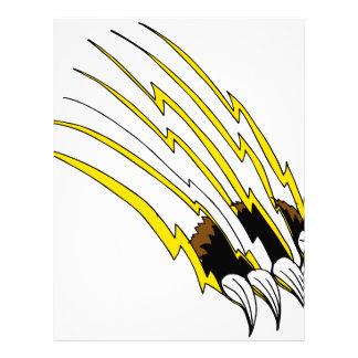 Shredding Bear  Claw Attack Letterhead