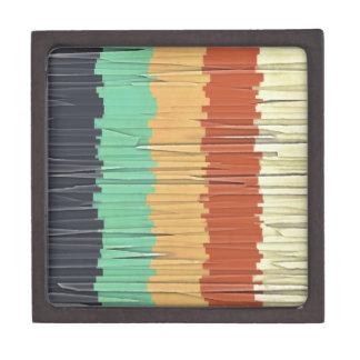 Shreds of Color Keepsake Box