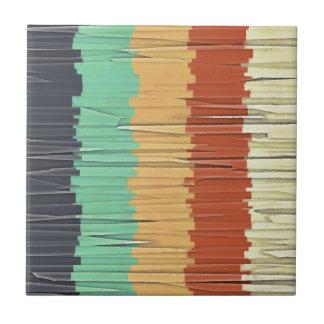 Shreds of Color Tile