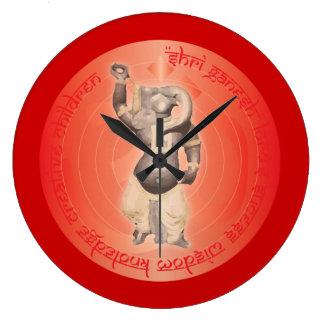 Shree Ganesh God of Wisdom - New Beginnings Clock
