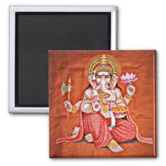 Shree Ganeshya 2 Inch Square Magnet
