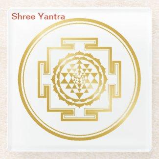 Shree Yantra Coaster