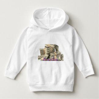Shreem Brzee Money mantra kids of children Hoodie