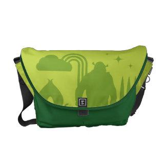 Shrek Fairy Tale Silhouette Courier Bag