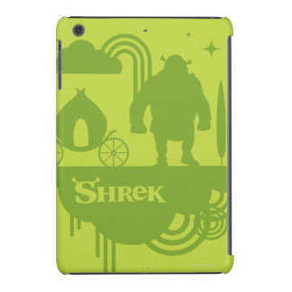 Shrek Fairy Tale Silhouette iPad Mini Cover