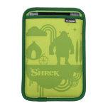 Shrek Fairy Tale Silhouette iPad Mini Sleeves