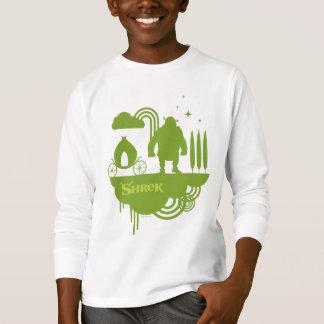 Shrek Fairy Tale Silhouette T-Shirt
