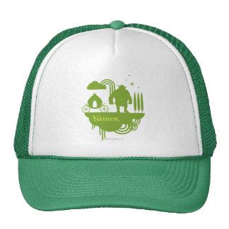 Shrek Fairy Tale Silhouette Trucker Hat