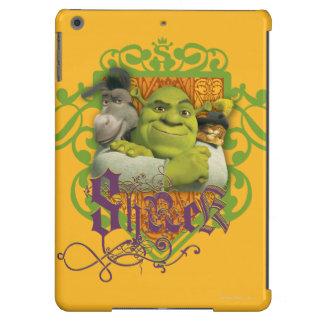 Shrek Group Crest Case For iPad Air